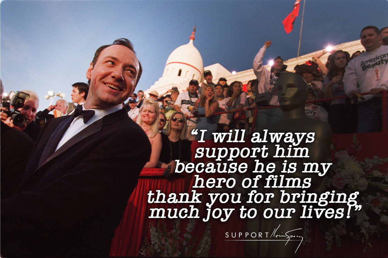 kevin spacey supportkevinspacey