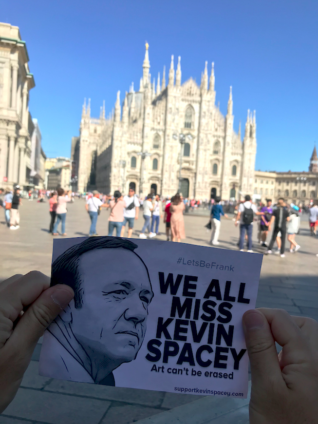 SupportKevinSpacey.com Kevin Spacey