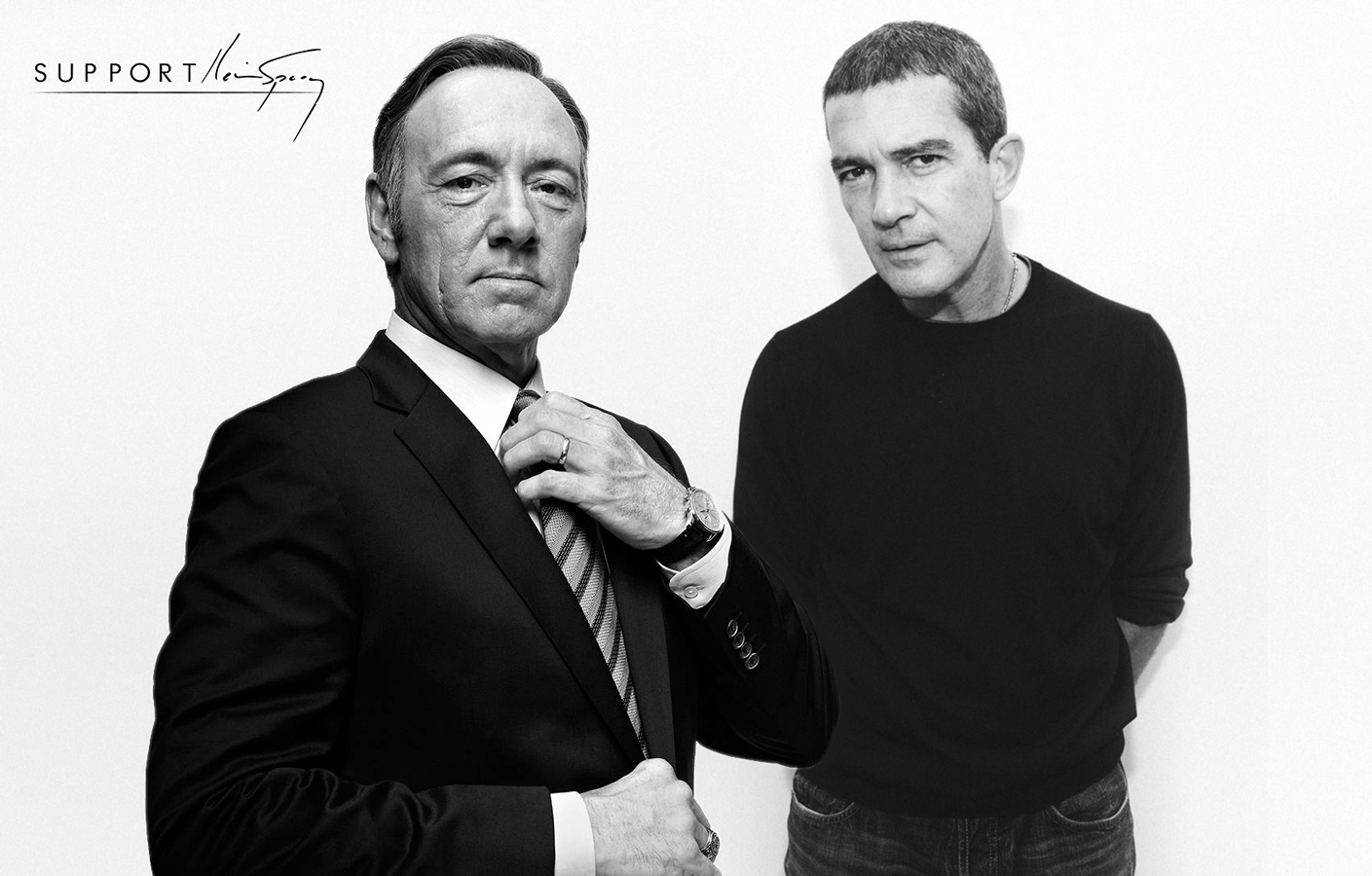 kevin spacey antonio banderas supportkevinspacey.com